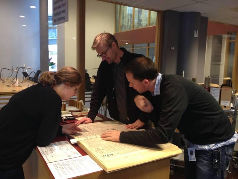 NDLA-faget i historie utvikles i samarbeid med Statsarkivet i Trondheim